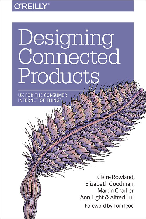 Designing Connected Products cover